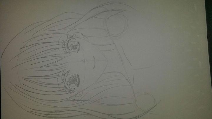 Meine Zeichnungen Tutorial Einfaches Anime Madchen