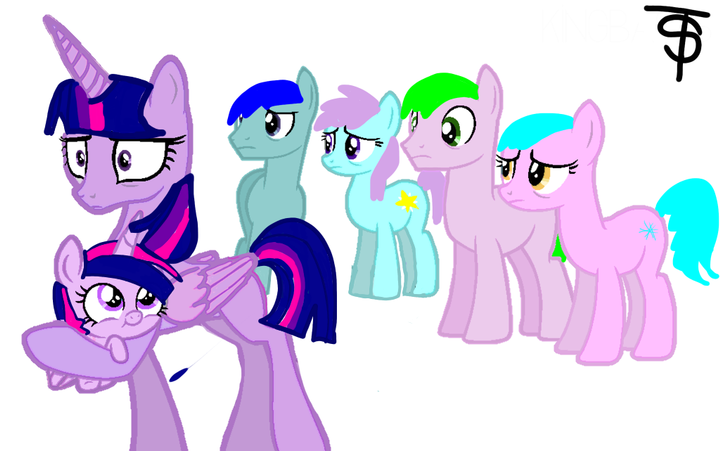 twilight s book of base arts 2 radom ponies gasps another baby