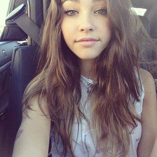 Pretty brunette teen who loves #15