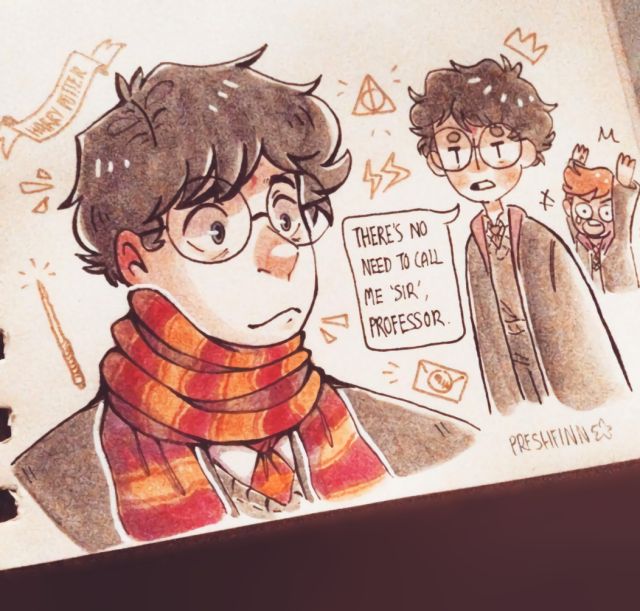 Harry Potter Fanart At Preshfinn Artista Tumblr Wattpad