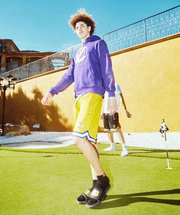@gelo as LiAngelo Ball
