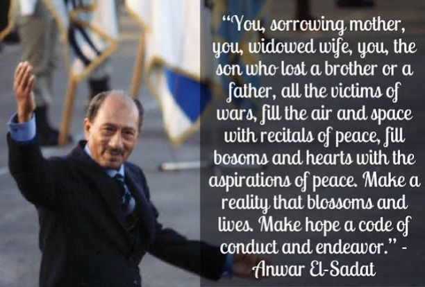 """""""You, sorrowing mother, you, widowed wife, you, the son who lost a father or a brother, all the victims of wars, fill the air and space with recitals of peace"""