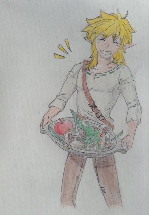 Recueil De Dessins The Legend Of Zelda Link 14 Wattpad