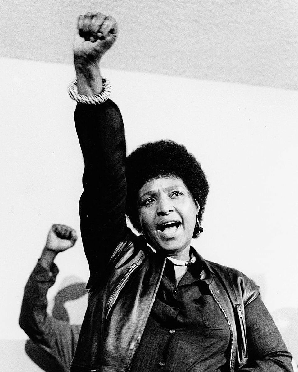 Before I update this book, I just wanted to take a moment to salute this Queen Mother called Winnie Madikizela Mandela