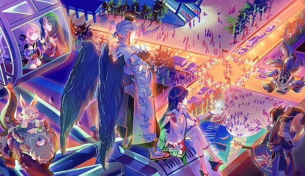 Amanojaku Midori - Amanojaku Aka - Amanojaku Ki - Amanojaku Ao - Hokigami -  Norikabe Giờ thì cùng xem loạt ảnh về những khoảnh khắc đáng nhớ của hội  nào, ...