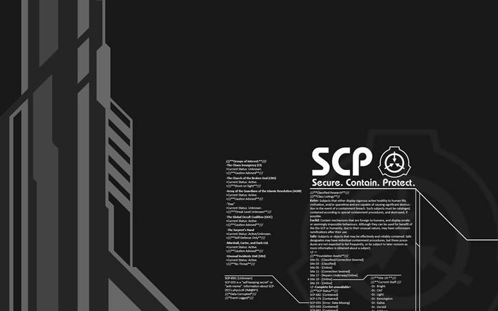 Một số SCP còn có thêm bản ghi âm, thu thanh, bảng điểm phỏng vấn, nhật ký kiểm tra, và một vài dị bản dựa trên sự lộ diện của đối tượng