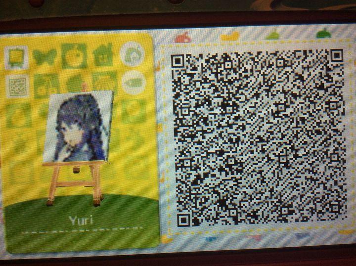 Animal Crossing New Leaf Happy Home Designer Anime Qr