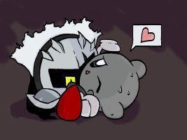 Super Psycho Love [Kirby X Dark Meta Knight and Meta Knight