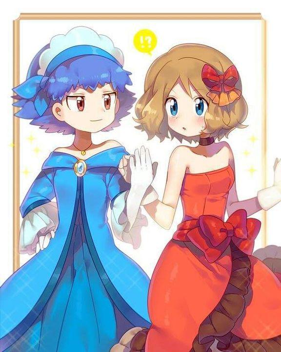 Pokemon x y serena nackt