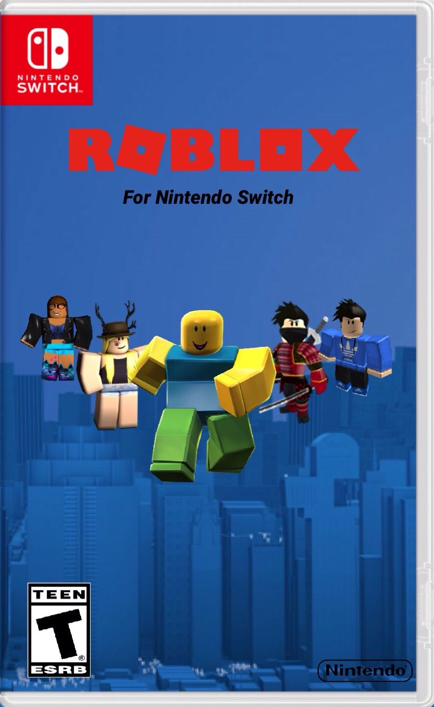 Video Game Ideas Video Game Box Art I Made 3 Roblox For