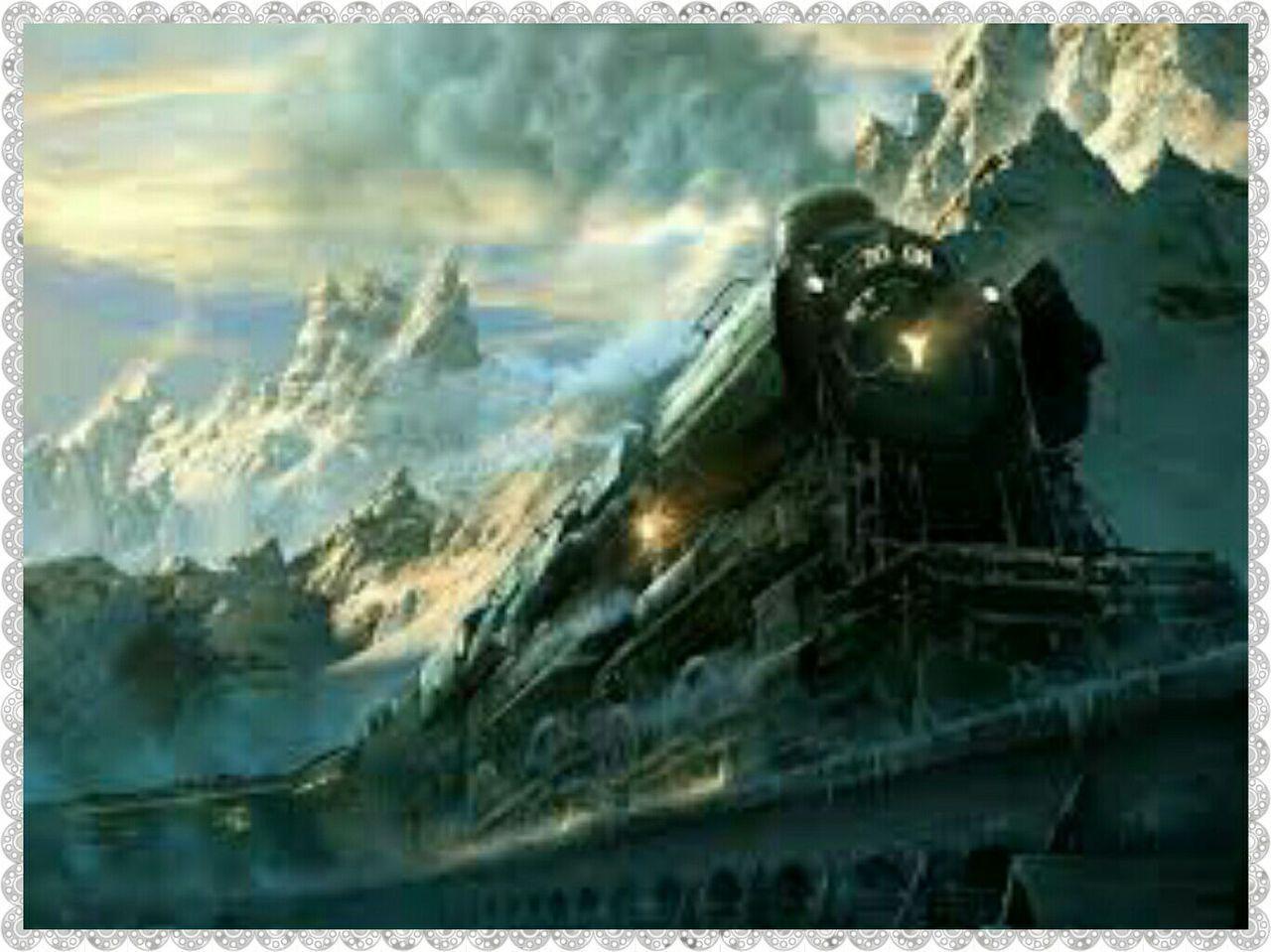 Los siguientes días de mi viaje en el tren no contemplé más ruinas, solo desierto