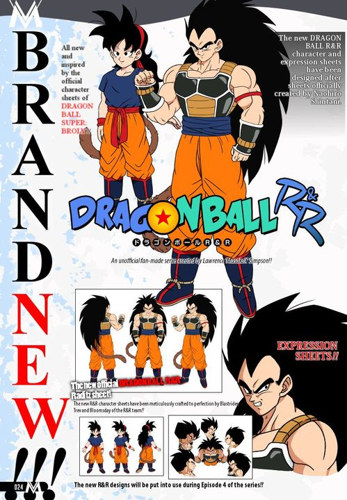 Random Book 10 Dragon Ball R R Raditz And Ranch Character Sheets