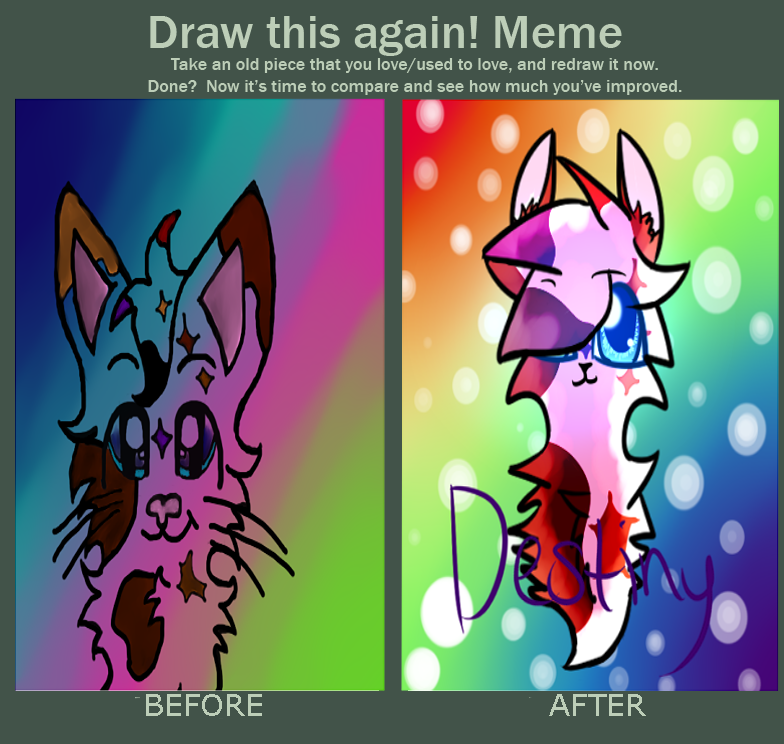 Old Fanart Two Draw This Again Meme Wattpad