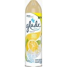 For some weird reason, glade air freshener