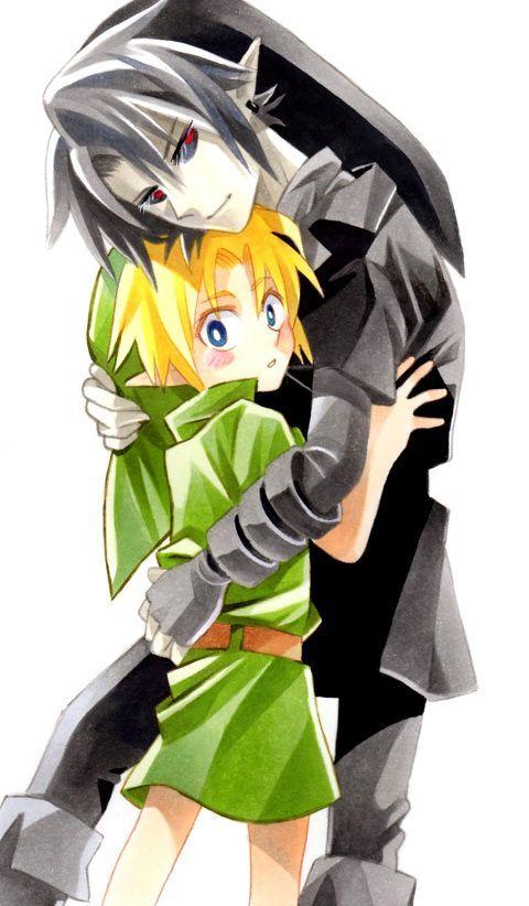 Link Vs Dark Link Legend Of Zelda Pinterest Dark And Link