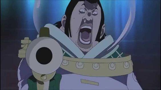 Kemudian, di pelelangan, dia dipukuli oleh Luffy, jadi Kizaru datang untuk menyerang, dan Luffy memiliki pengalaman besar setelah itu