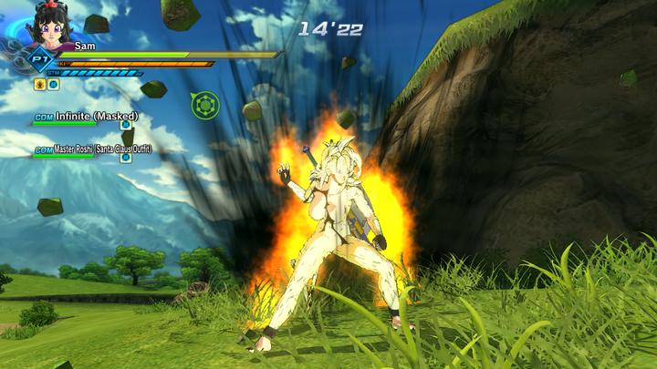 Super Saiyan Fury (a name i made for it