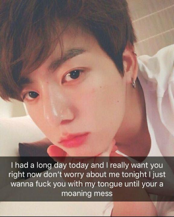 BTS Dirty Snapchats - Jungkook - Wattpad