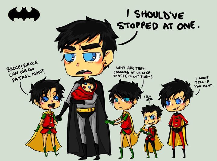 Batfamily imagines and one shots! - Batboys x dominant, male! reader