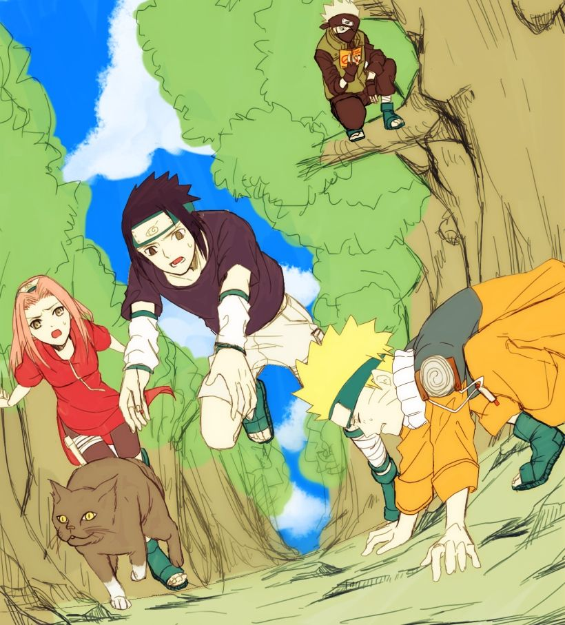 The Moon Child ( Naruto Fan-Fiction ) - Chapter 8~ Getting a