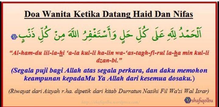 Dear Muslimah 73 Haid Mandi Wajib Wattpad