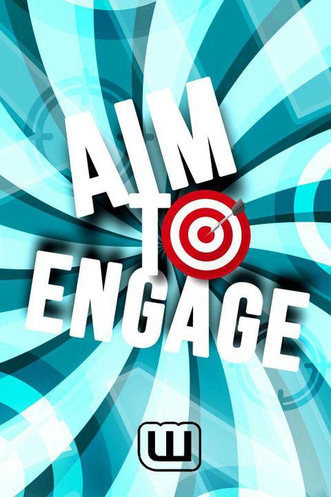 نود الإشارة أولا أن التظاهرة لن تتم في هذا الكتاب بل في كتابنا الجديد : Aiming to Engage