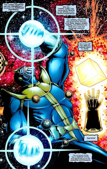 Random Book 4 - Infinity Gauntlet vs Heart of The Universe