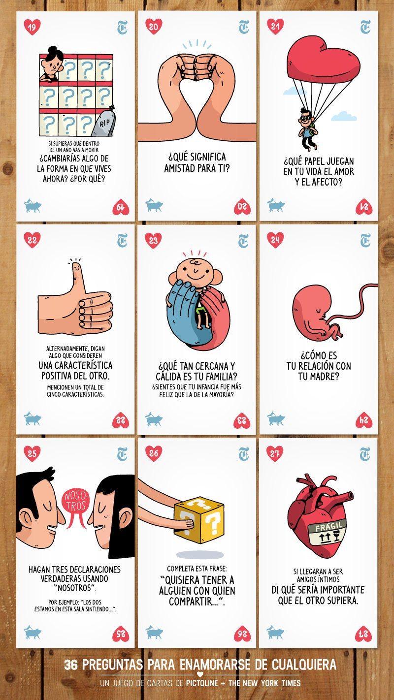 36 preguntas más para enamorarse