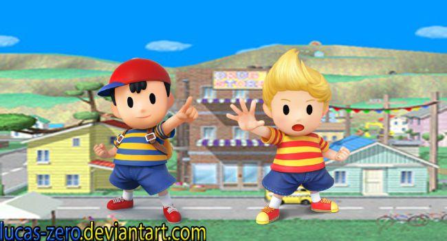 Super Smash Bros  One-Shots - My Earthbound Boys - Lucas x Reader x