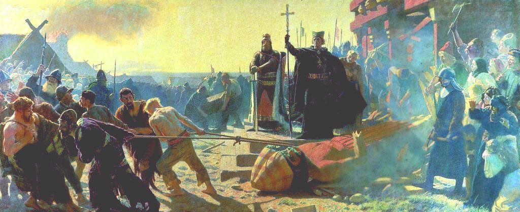 """Kościół oprócz przymusowej chrystianizacji, stosował również inne sposoby na wyplenienie """"pogaństwa"""" z Polski"""
