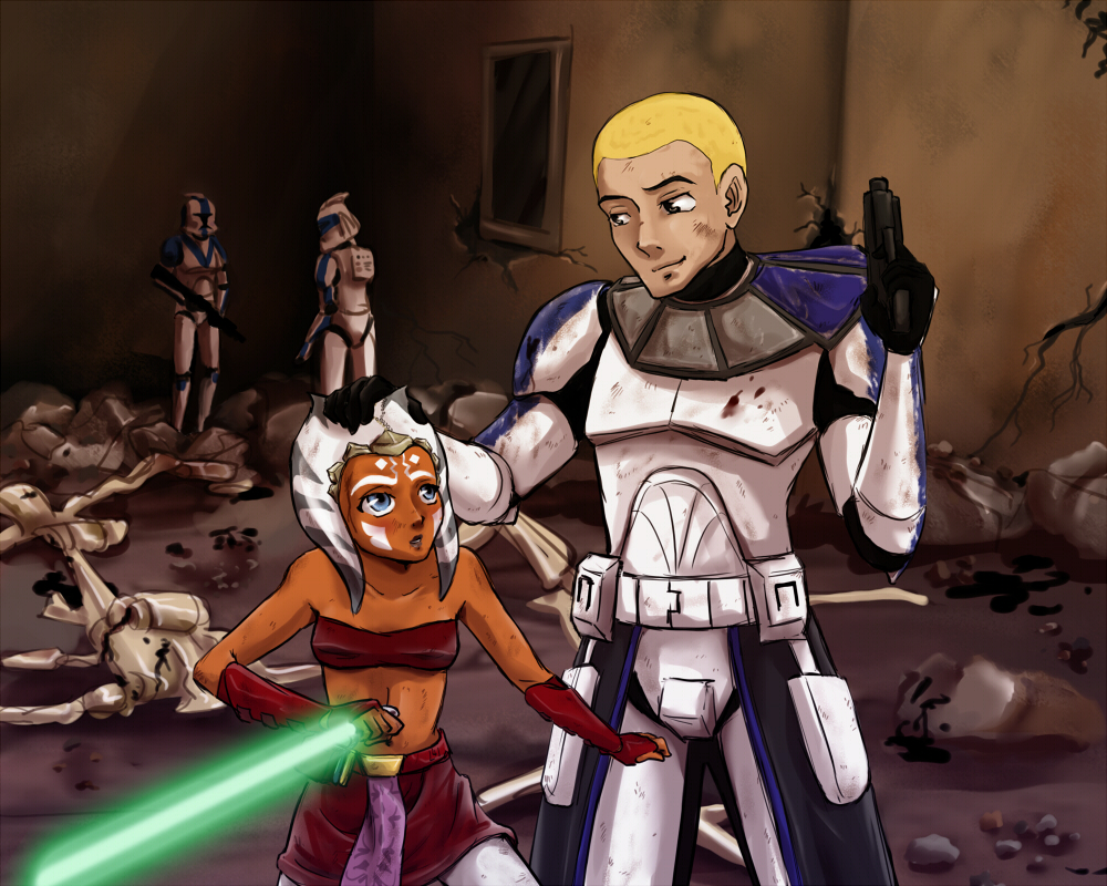 Ahsoka X Rex star wars: against all orders - chapter nine: the aftermath