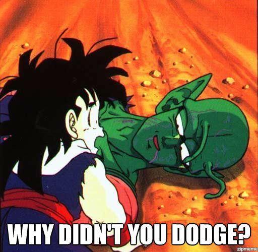 dragon ball z memes dodge wattpad