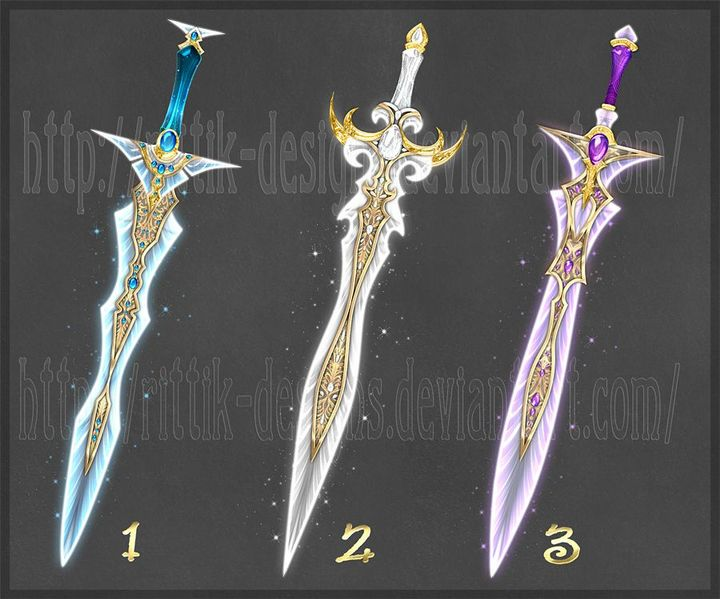 The Thunder Legion's Keys - Sword Names (A/N, NOT A CHAPTER