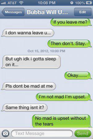 Teenage Text - Are you Mad??? - Wattpad