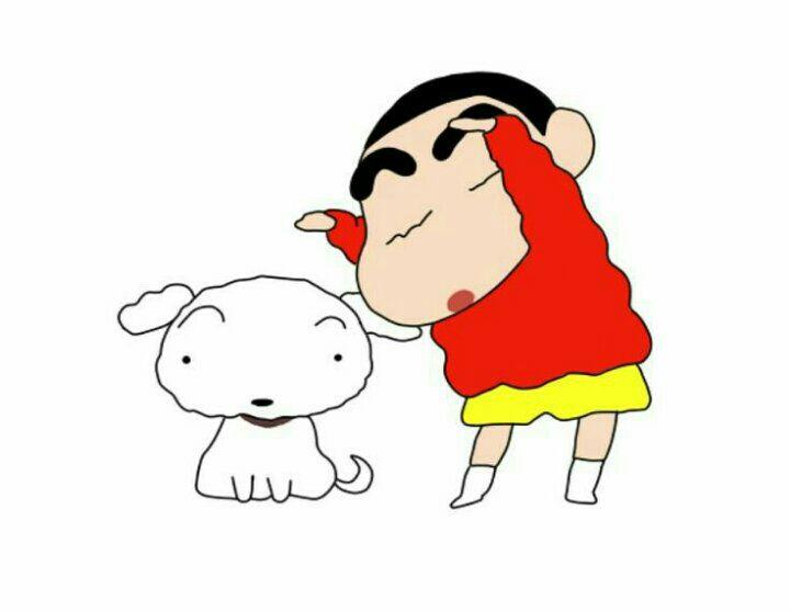 Nhưng mà mèo Poko và Shin cậu bé bút chì không cùng một truyện chỗ này có lẽ tác giả nhầm với chú chó Bạch Tuyt của cu Shin hoặc cố tình để vậy cho độc lạ v