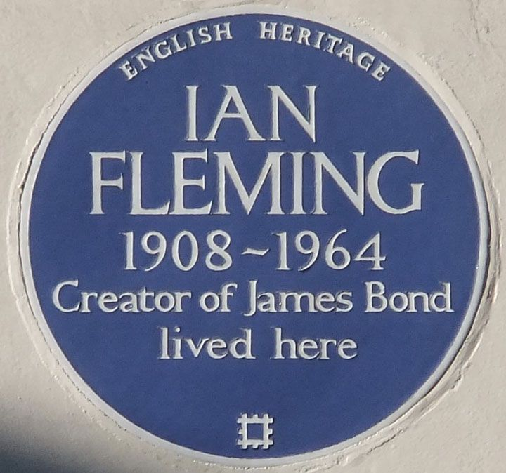 """A few minutes later, they paused in front of the plaque and Chloe said, """"I bet this is among the least visited because people know the real James Bond house"""