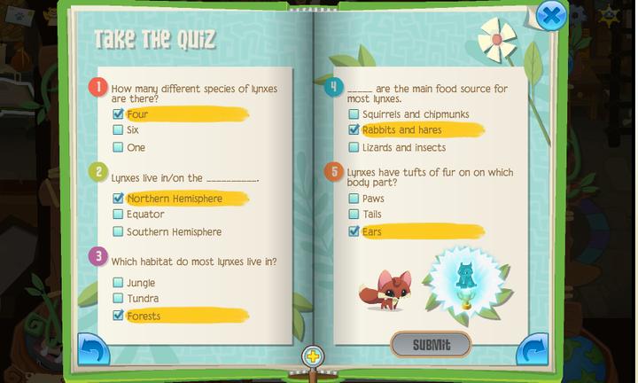 animal jam quiz how rare are you