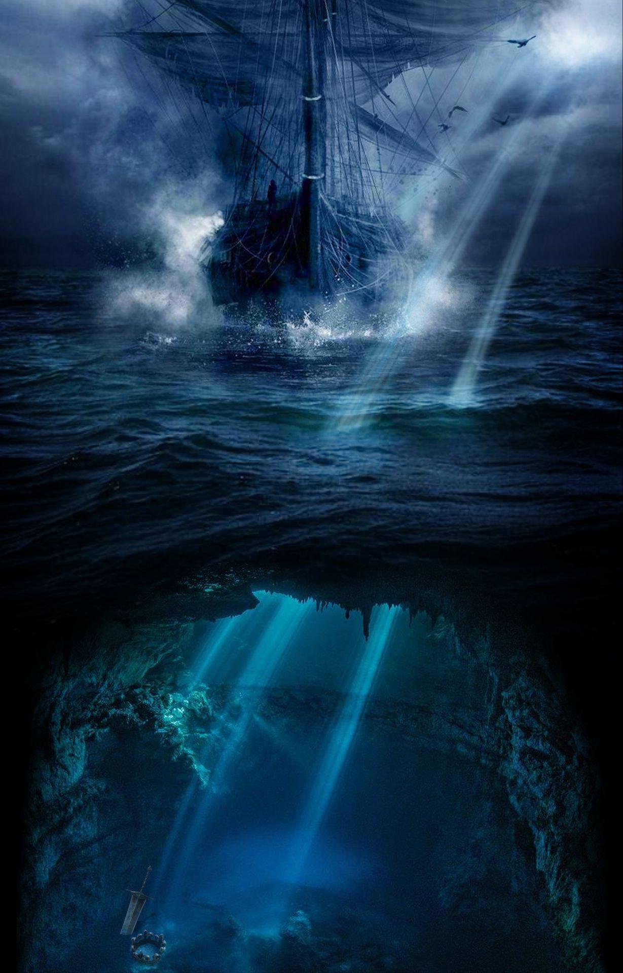 En ook een panterloze versie (want waarom zou die eigenlijk onder water zitten?):