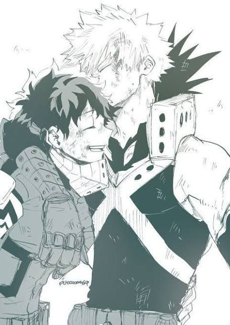 The Day that Kaminari discovers Bakudeku is a Thing