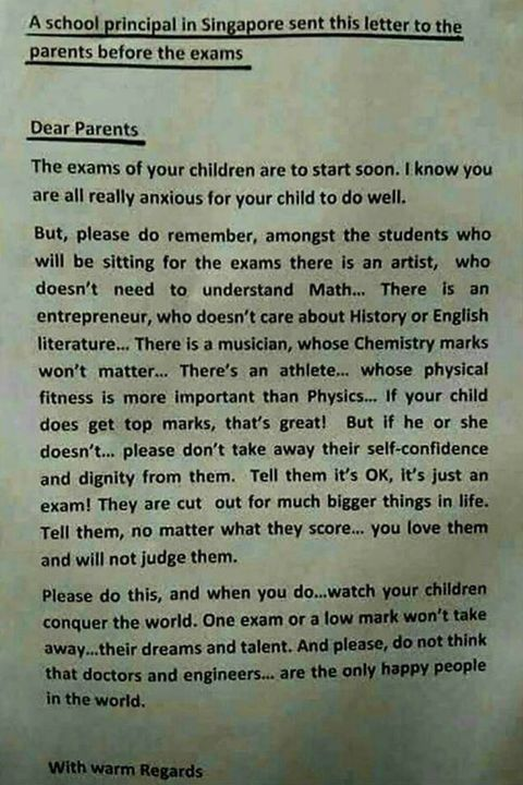 this letter speaks to me as someone who has complaints against the school system :^)