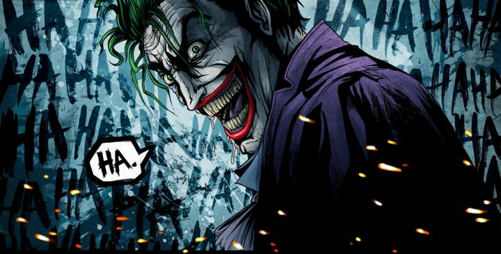 The Joker;• Aslan