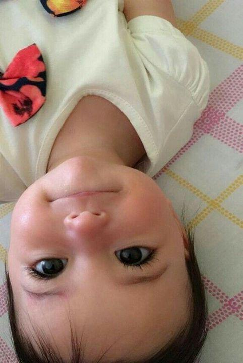 Лина роди сладко момиченце