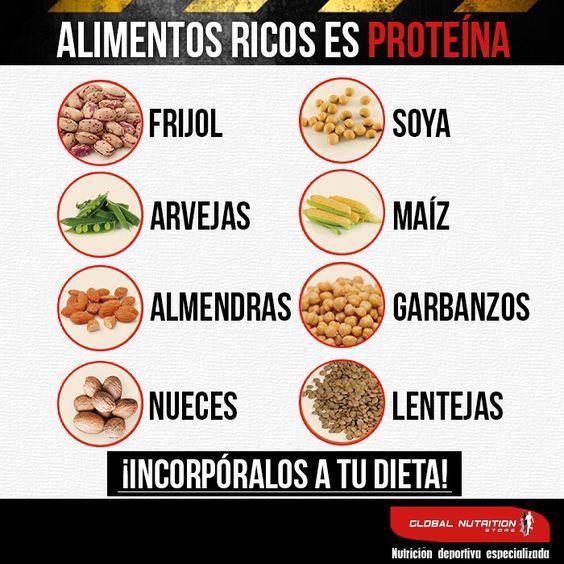 dietas comidas para aumentar masa muscular