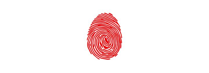 Fingerprint here