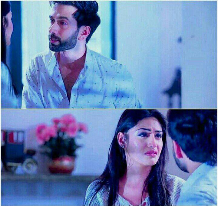 Shivaay and Anika had a teary eyelock