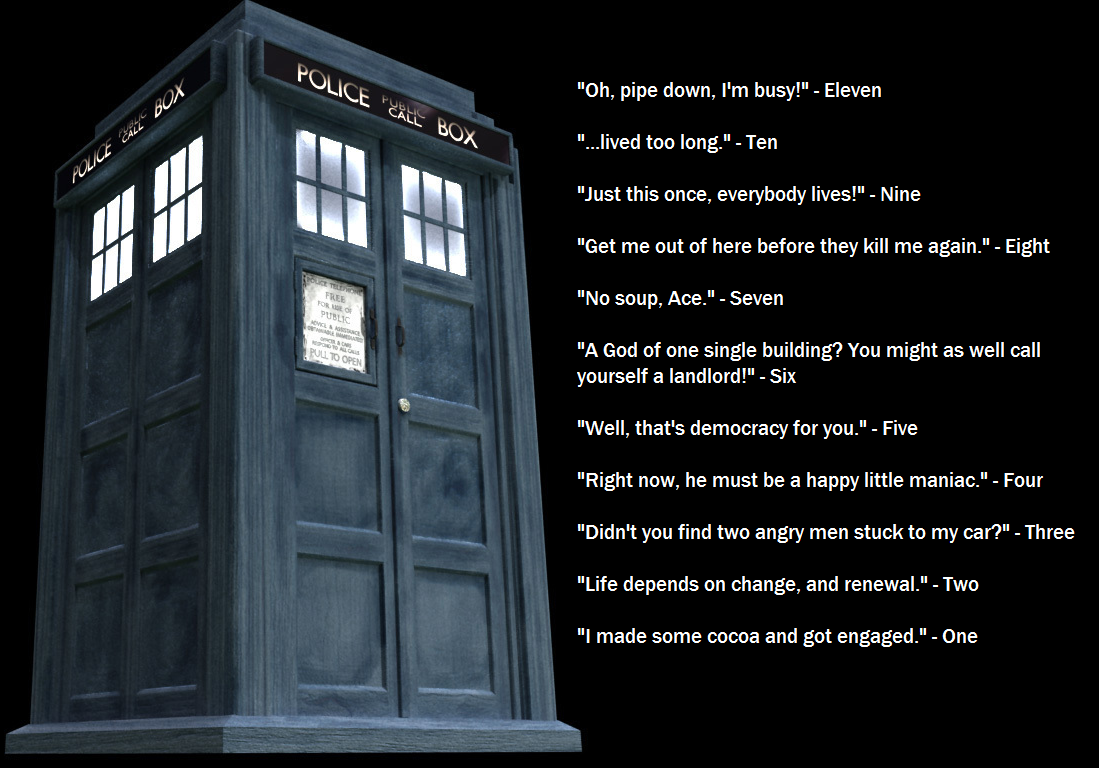 Short Quotes Doctor Who