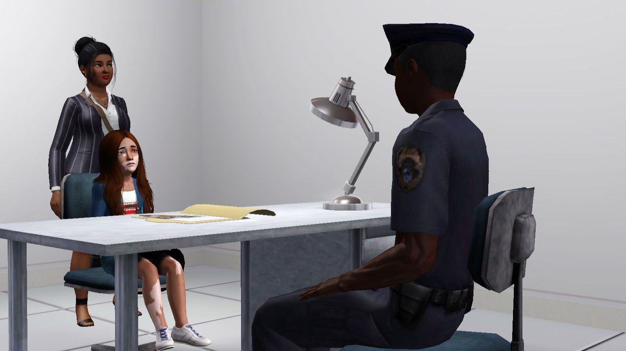 He told me there had been a problem and I needed to come to the police station right away
