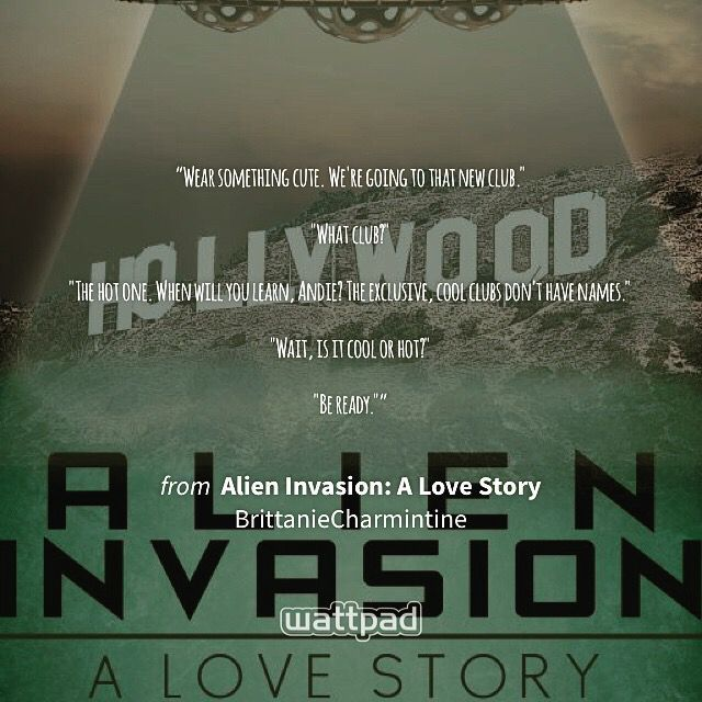 Hope you head over and read Alien Invasion: A Love Story soon