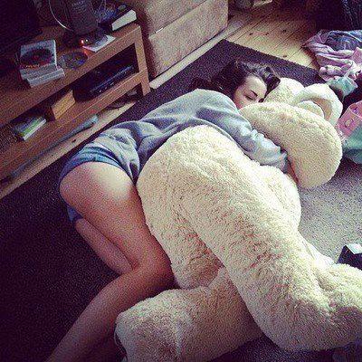 IamSebastianStan:she just fell asleep on the floor