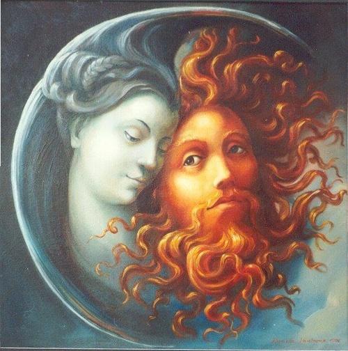 Spotyka się z kobietą wiccan